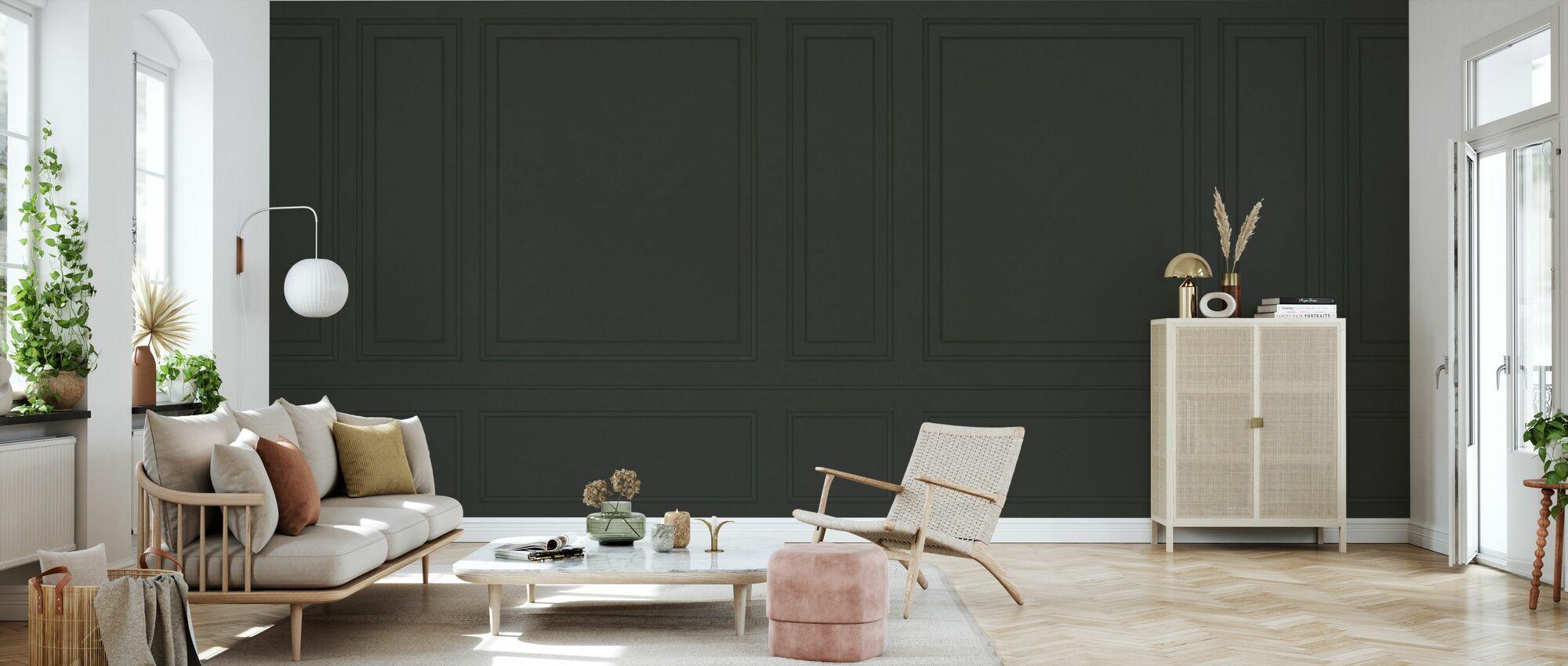Voguish Wall Panel - Green - Wallpaper - Living Room