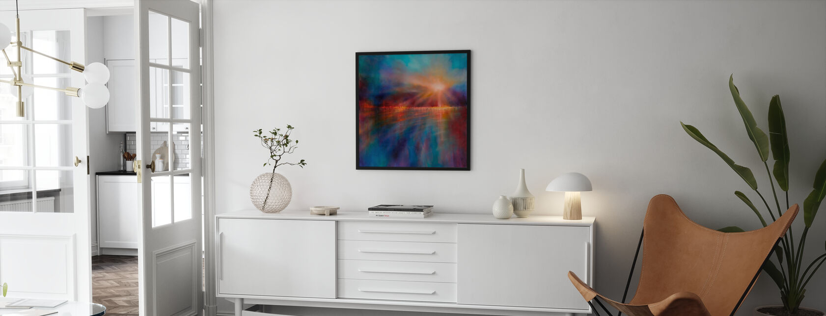 Another Morning - Framed print - Living Room