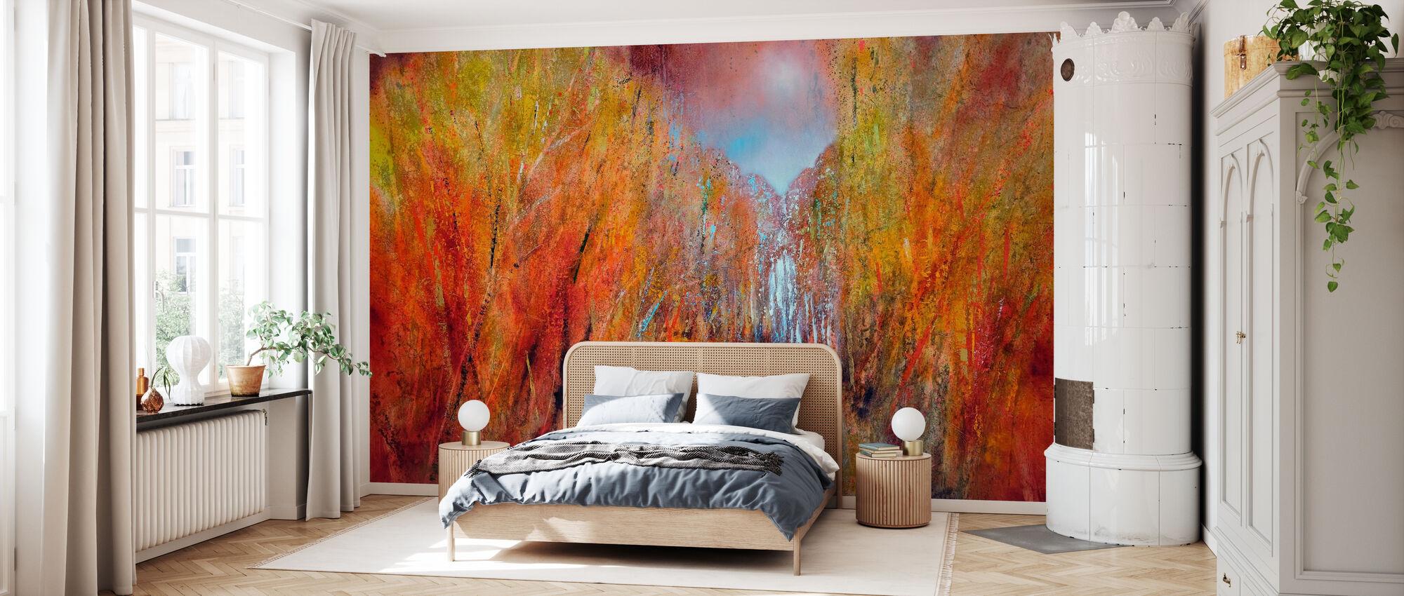 Herfst - Behang - Slaapkamer