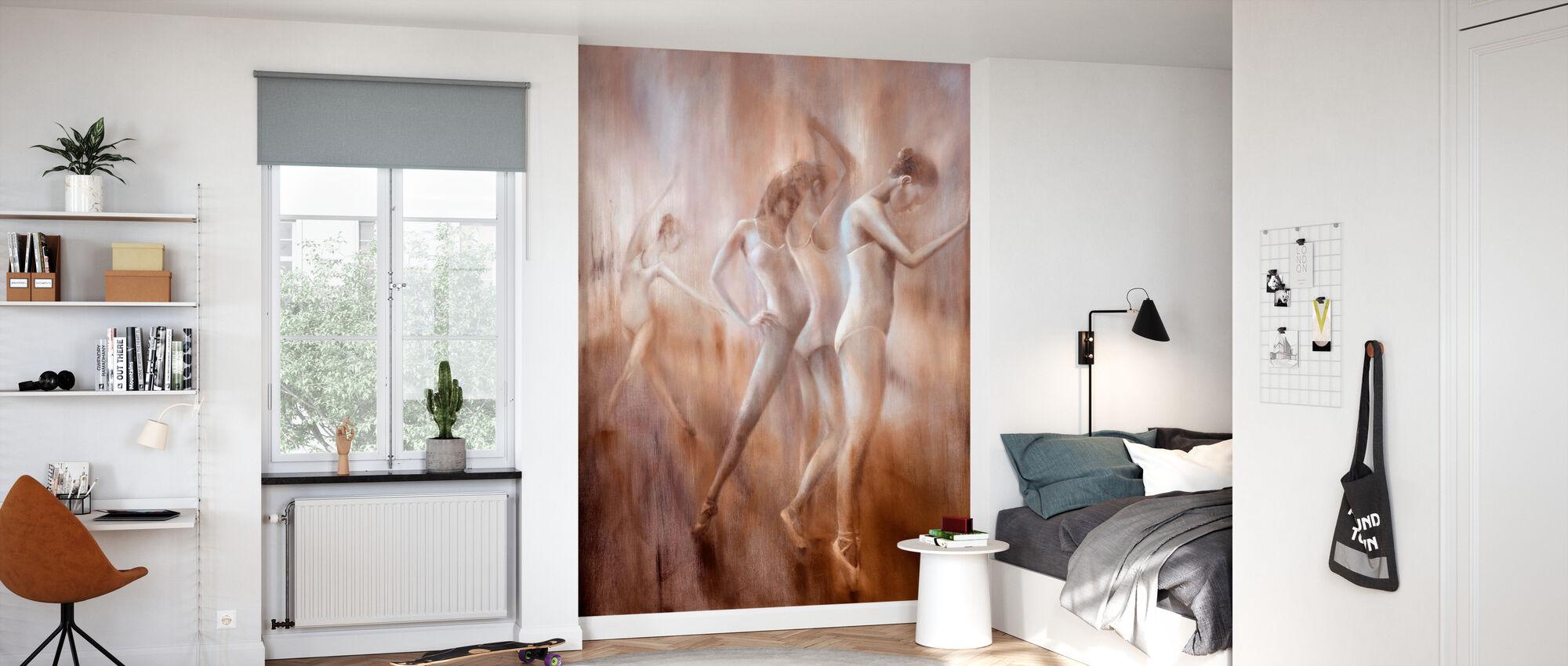 Dancers - Wallpaper - Kids Room