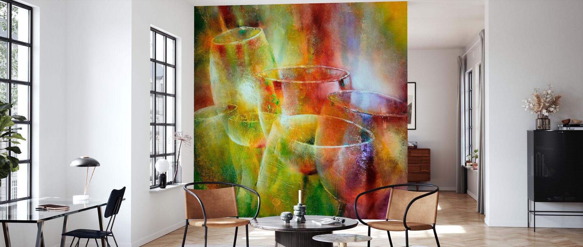 Light Show II - Wallpaper - Living Room
