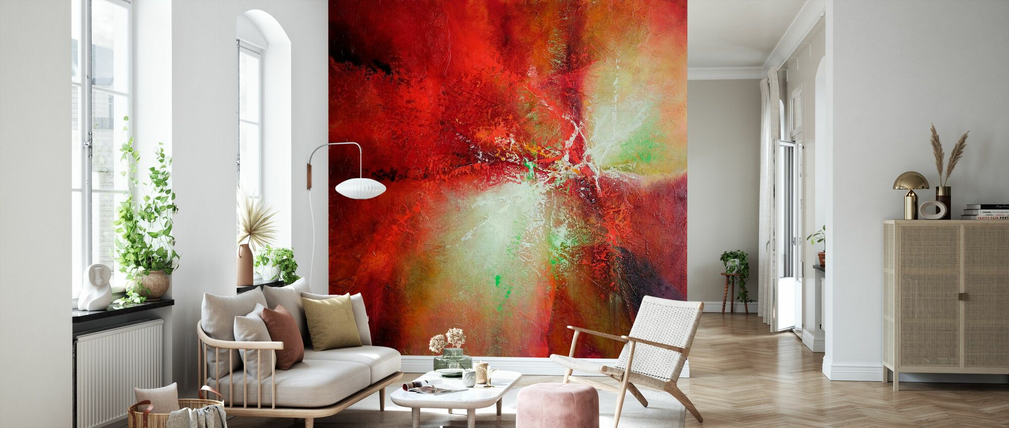 Energy - Wallpaper - Living Room