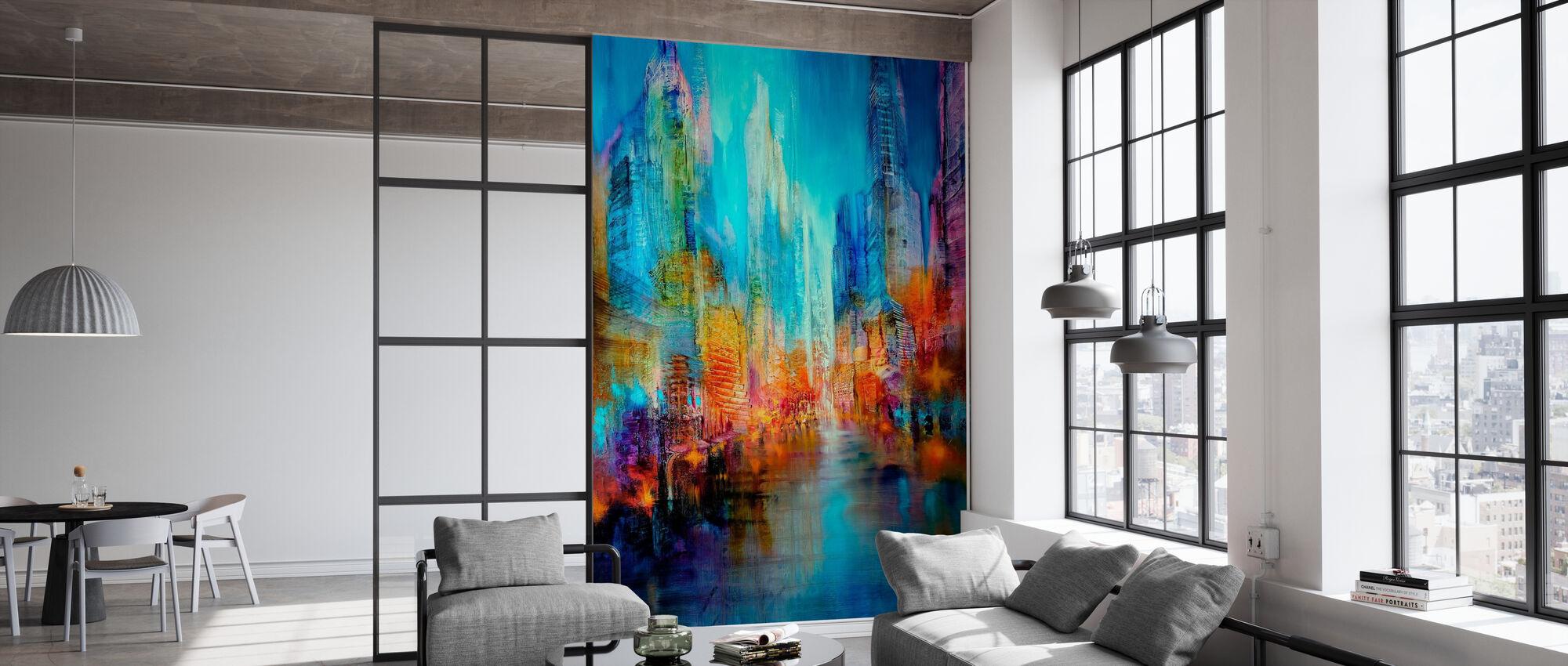 Big City - Wallpaper - Office