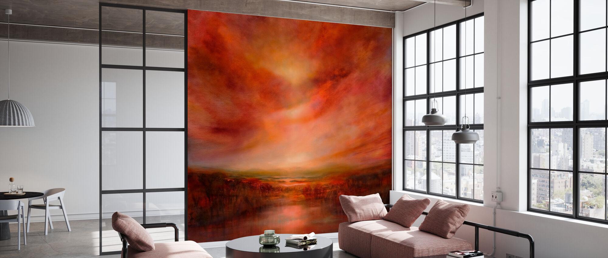 Evening Glow II - Wallpaper - Office