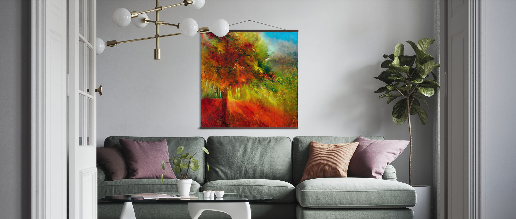 Autumn - Poster - Living Room