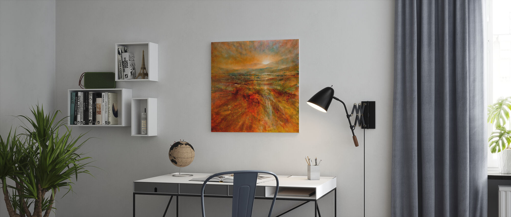 Sunrise - Canvas print - Office