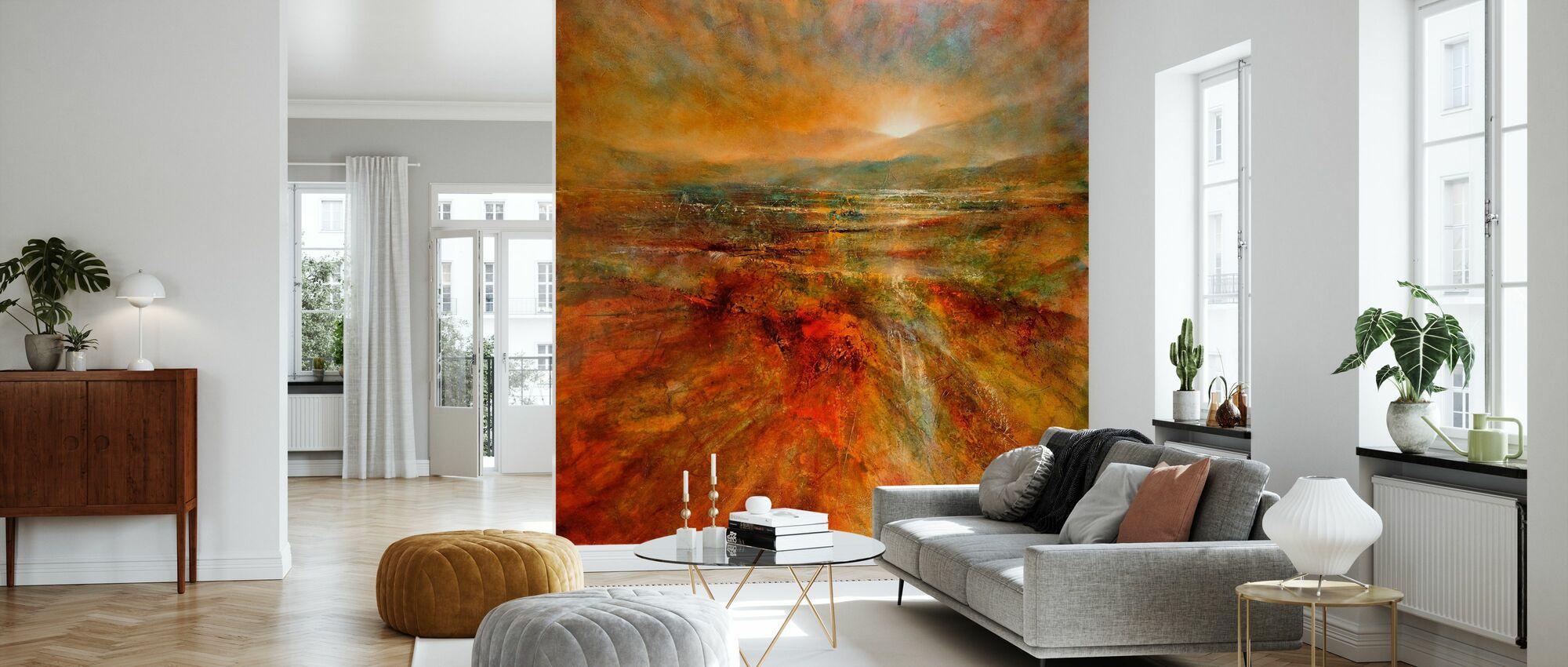 Sunrise - Wallpaper - Living Room