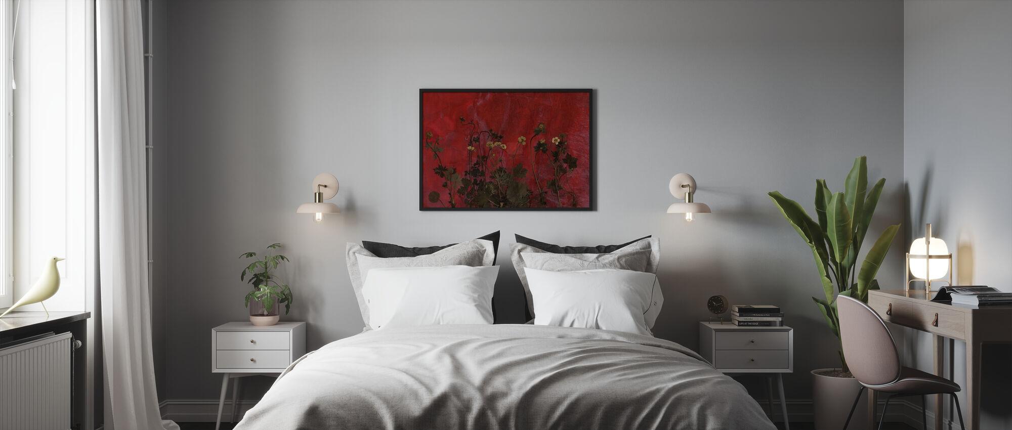 Prato - Stampa incorniciata - Camera da letto