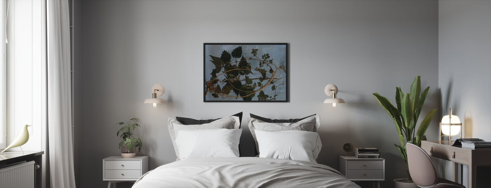 Nettles - Framed print - Bedroom
