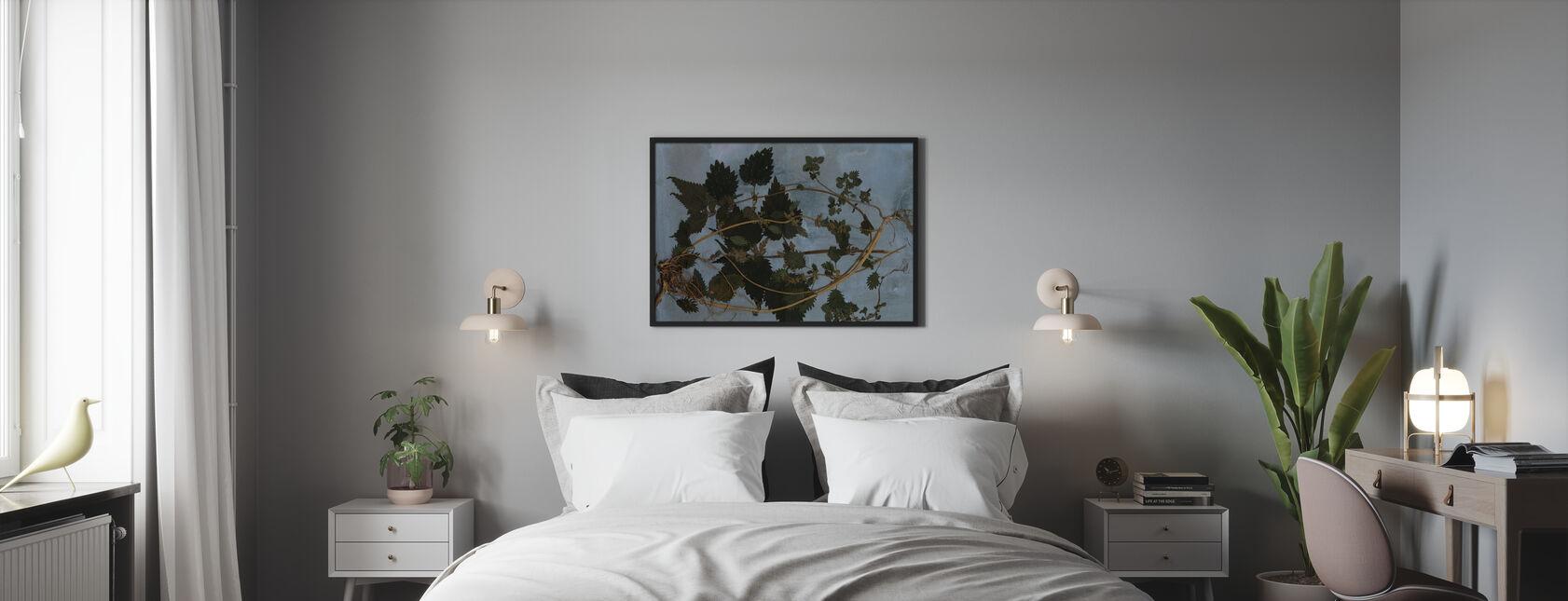 Brandnetels - Ingelijste print - Slaapkamer