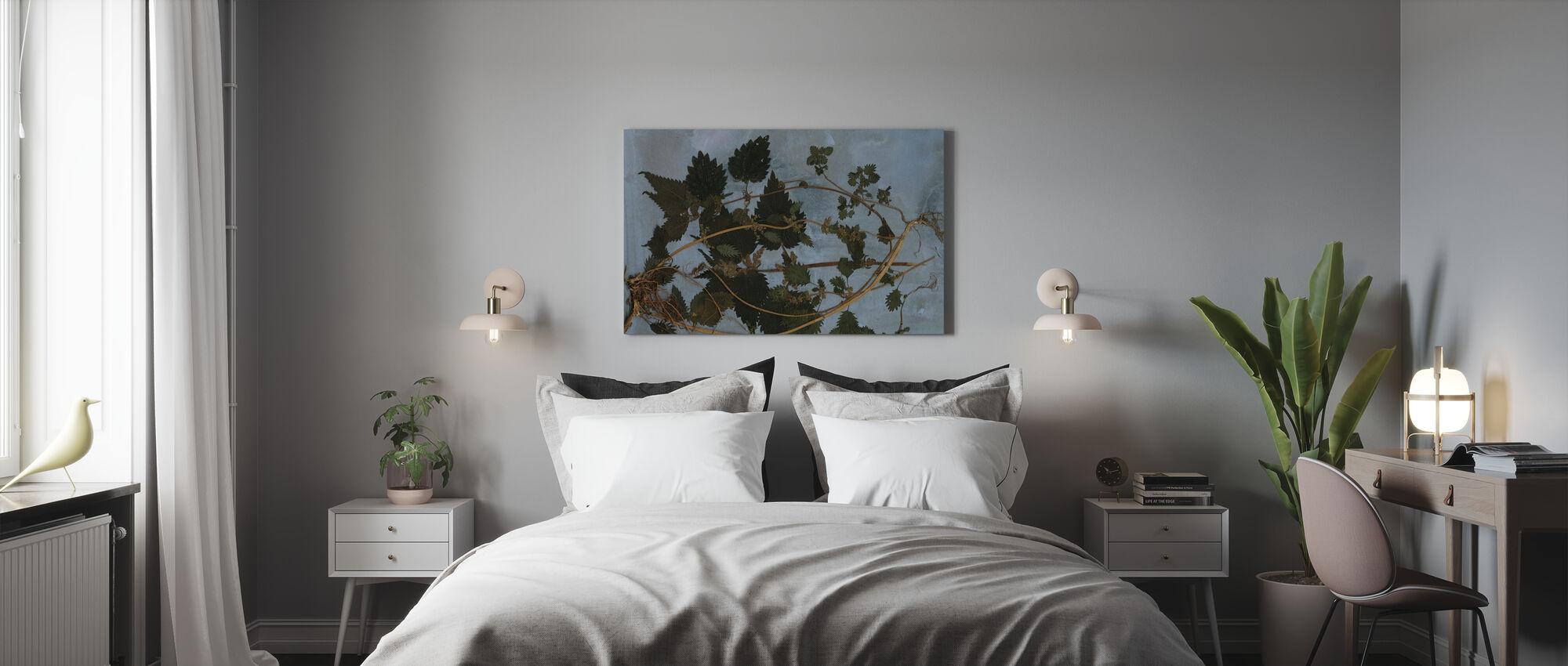 Brandnetels - Canvas print - Slaapkamer