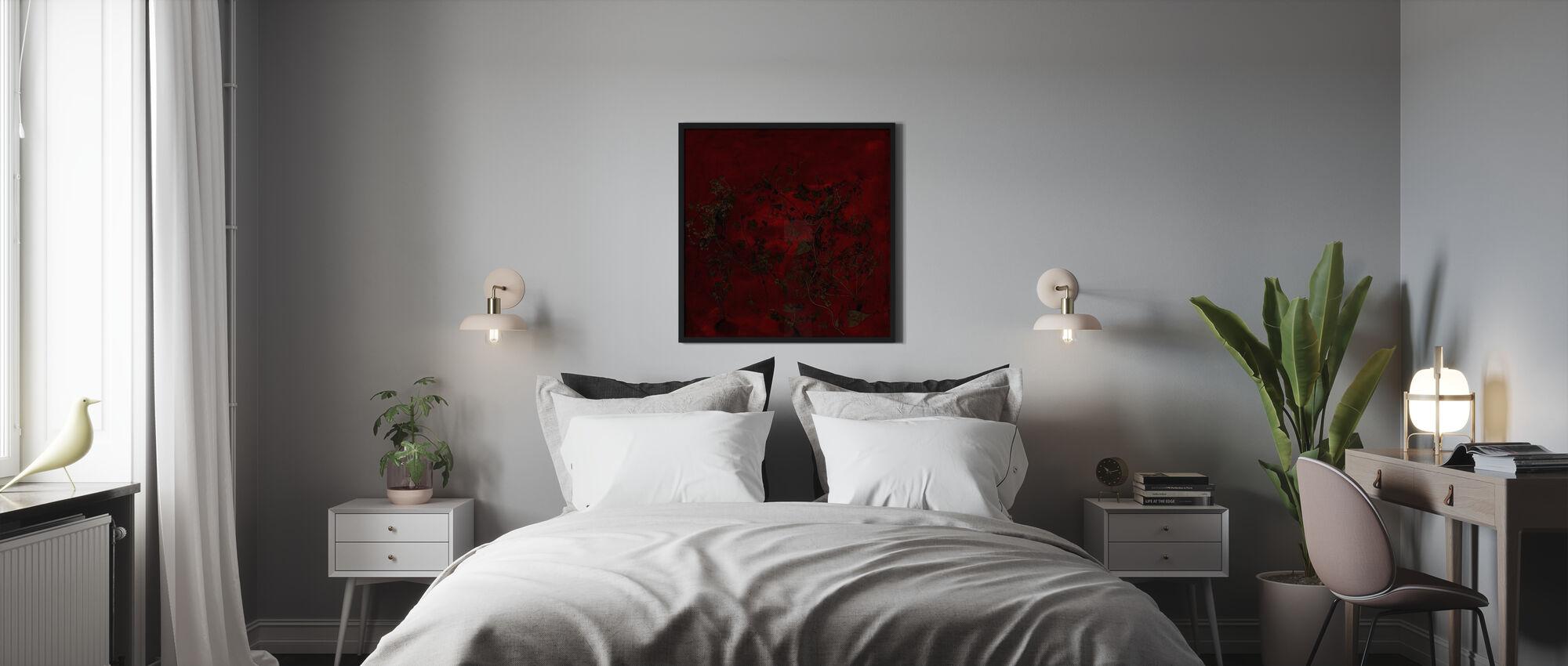 Nacht-Garten - Gerahmtes bild - Schlafzimmer