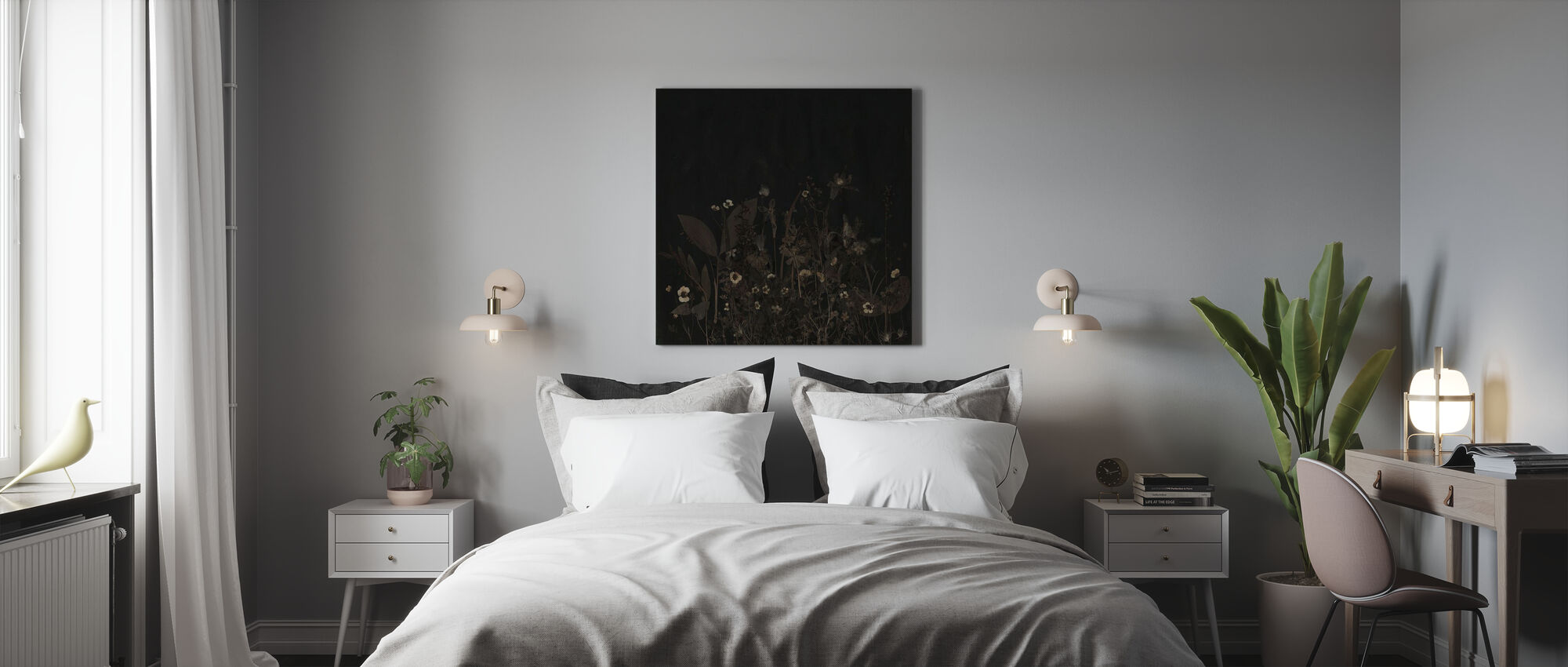 Nocturnal - Canvas print - Bedroom