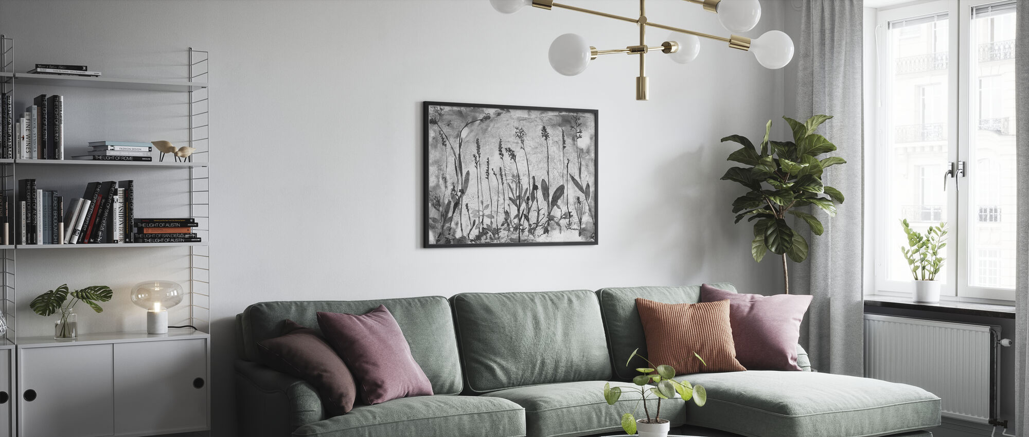Orchidaceae - Poster - Living Room