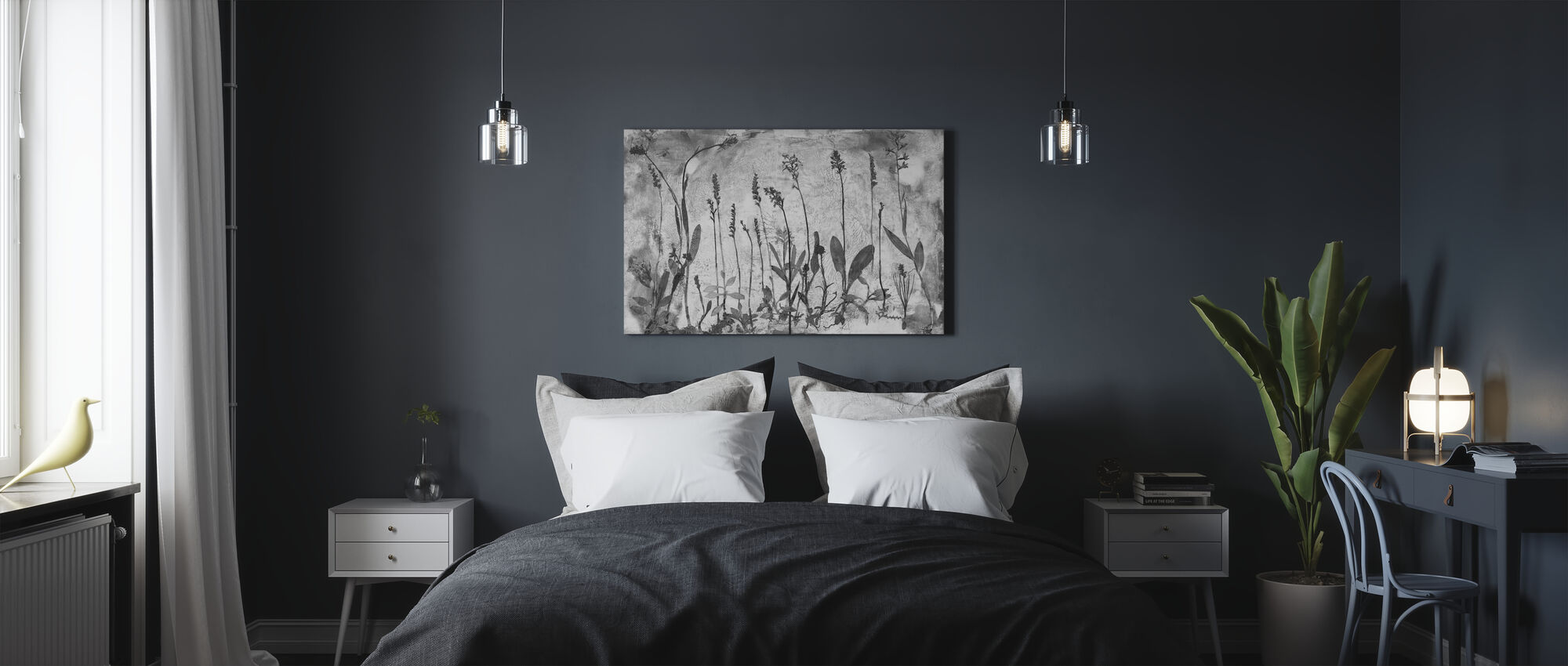 Orchidaceae - Canvas print - Bedroom