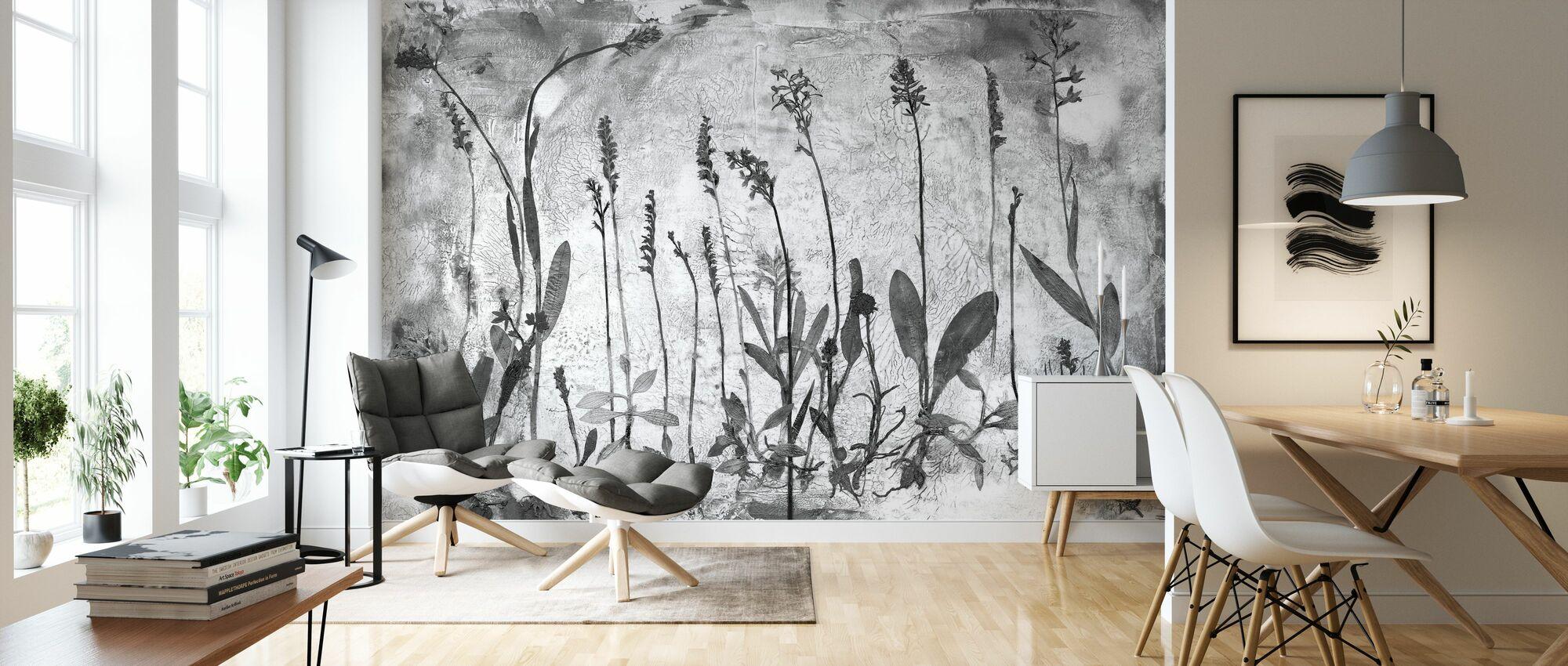 Orchidaceae - Wallpaper - Living Room