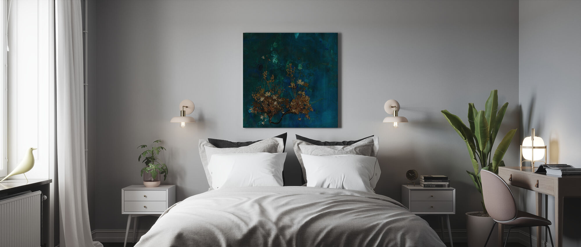Plateau - Canvas print - Bedroom