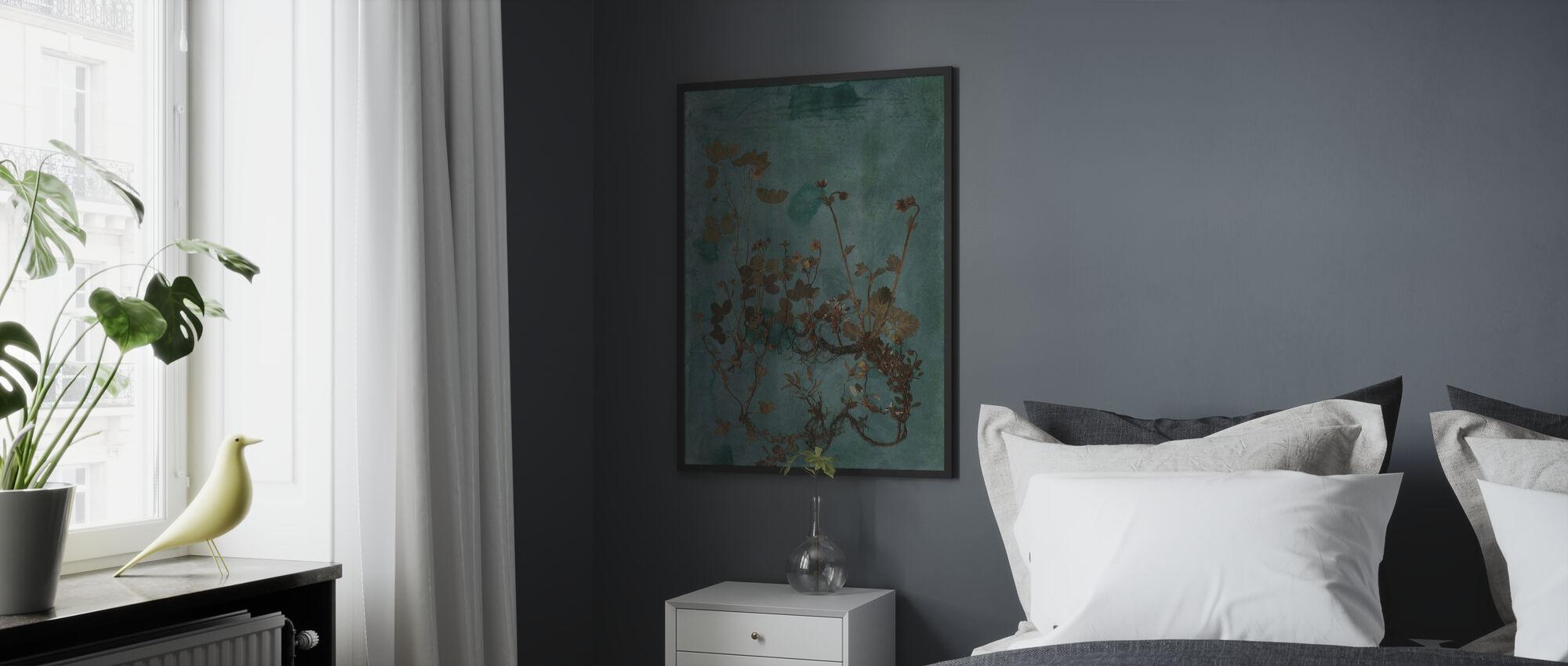 Rhizome - Impression encadree - Chambre