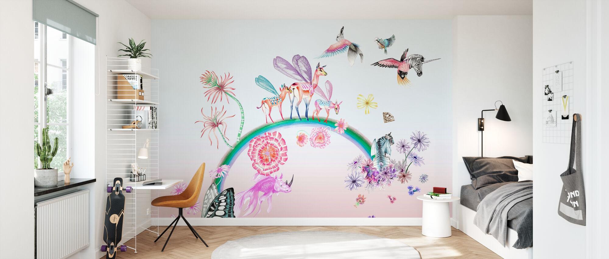 Fables-Ombre - Wallpaper - Kids Room