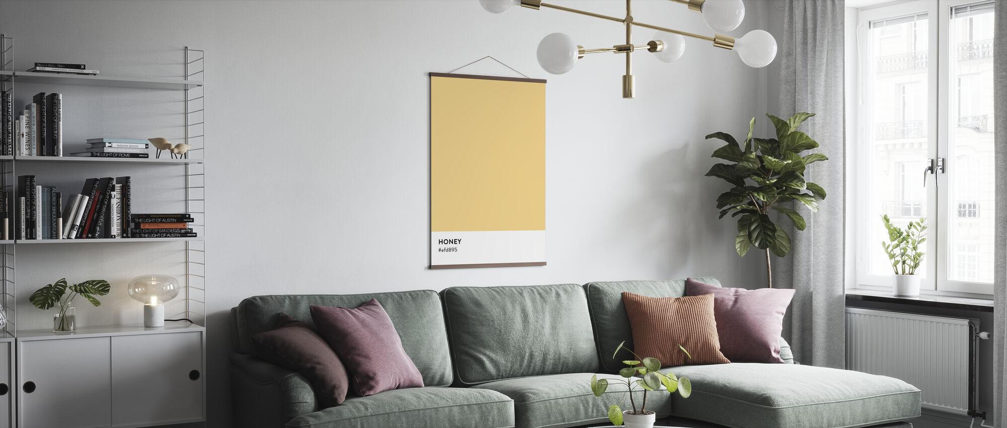 Honig - Poster - Wohnzimmer