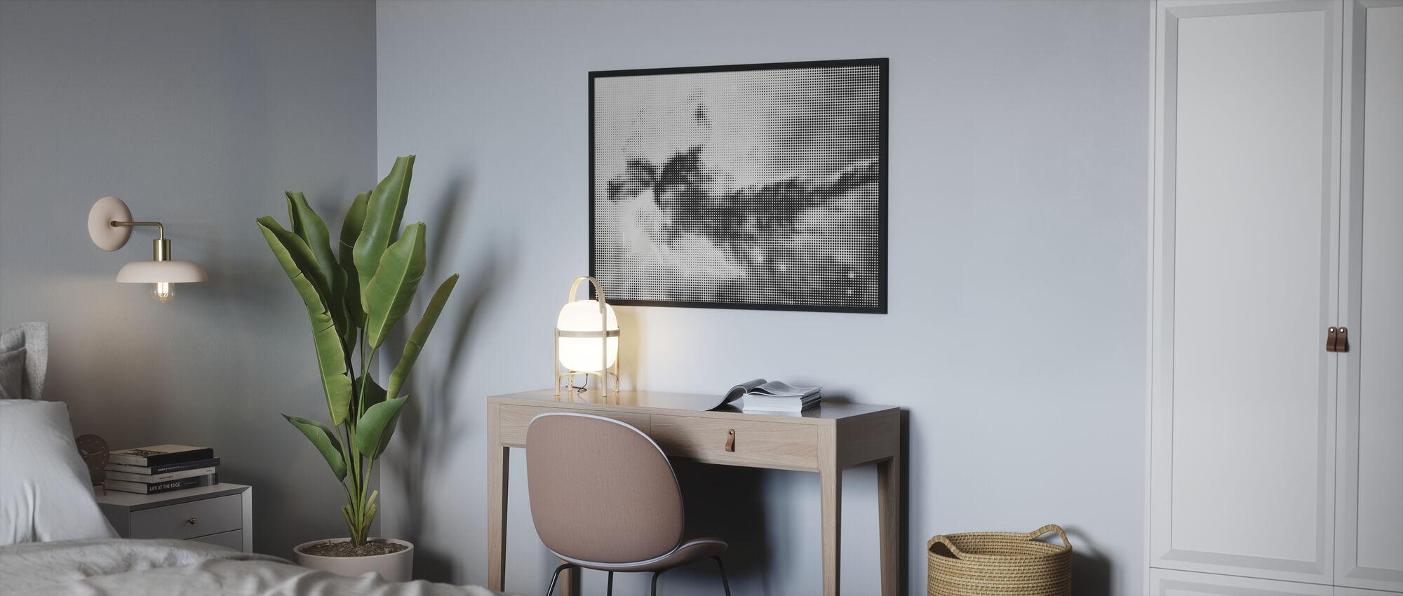 Final Frontier Galaxy One - Poster - Bedroom