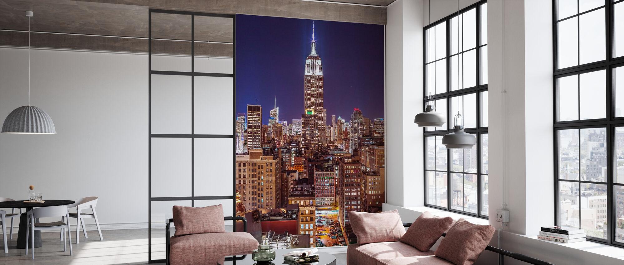 New York - Tapete - Büro