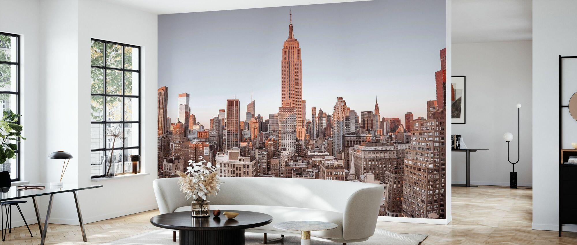 New York Vogelblick - Tapete - Wohnzimmer