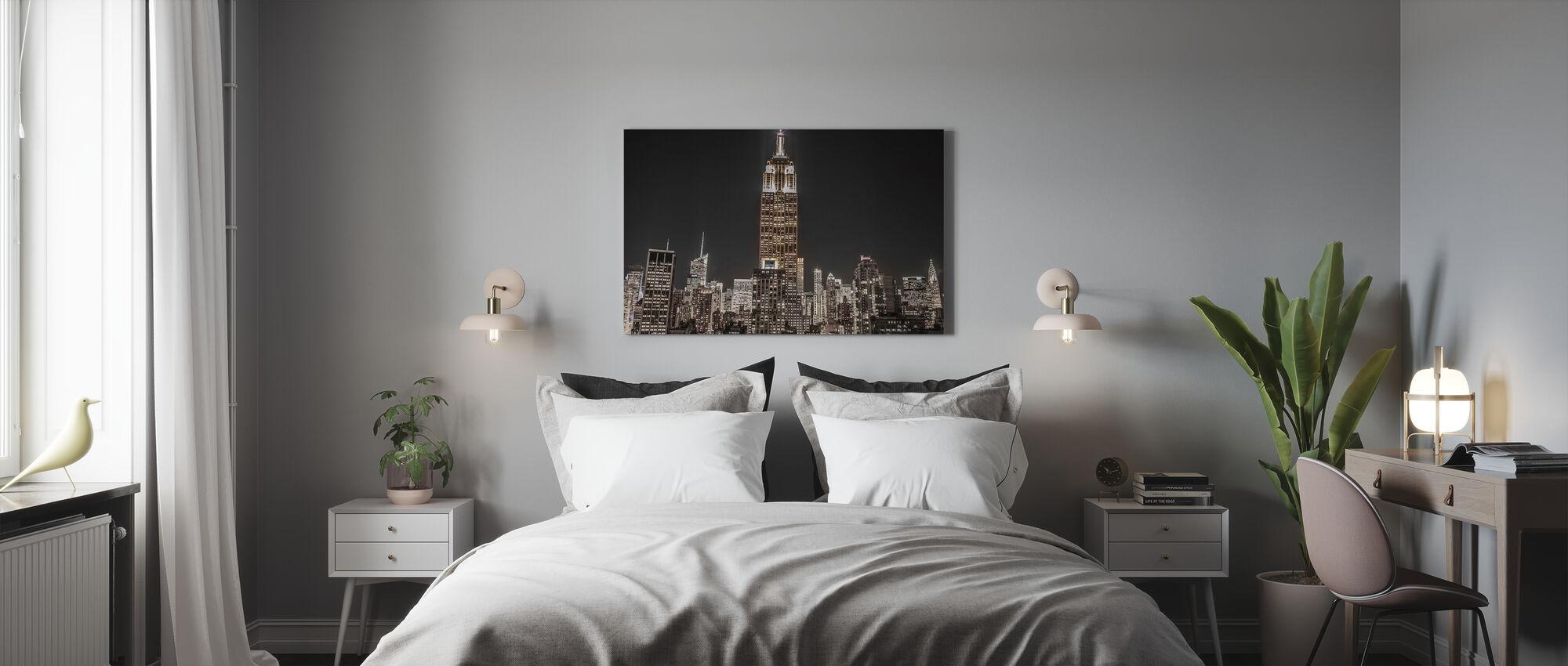 New York Night - Canvas print - Bedroom
