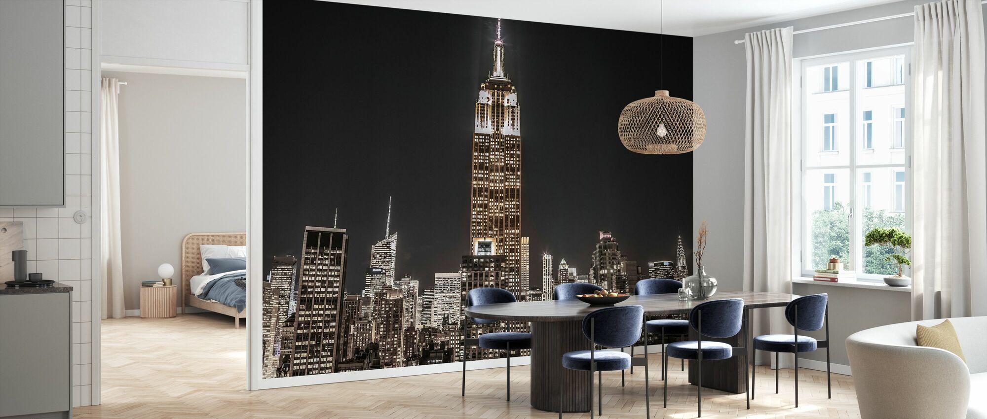 New York Nacht - Tapete - Küchen