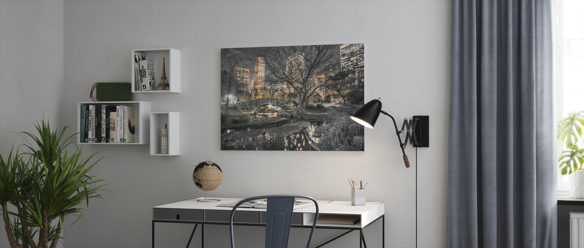 New York - Central Park - Canvas print - Office