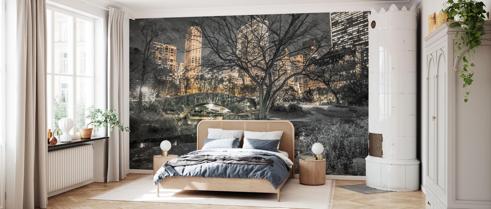New York - Central Park - Wallpaper - Bedroom