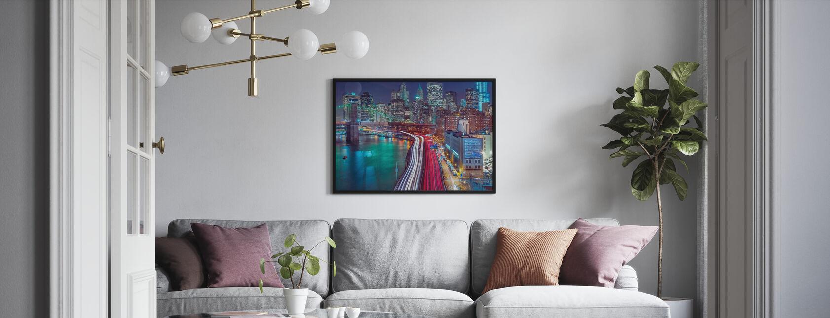 New York City Movement - Framed print - Living Room