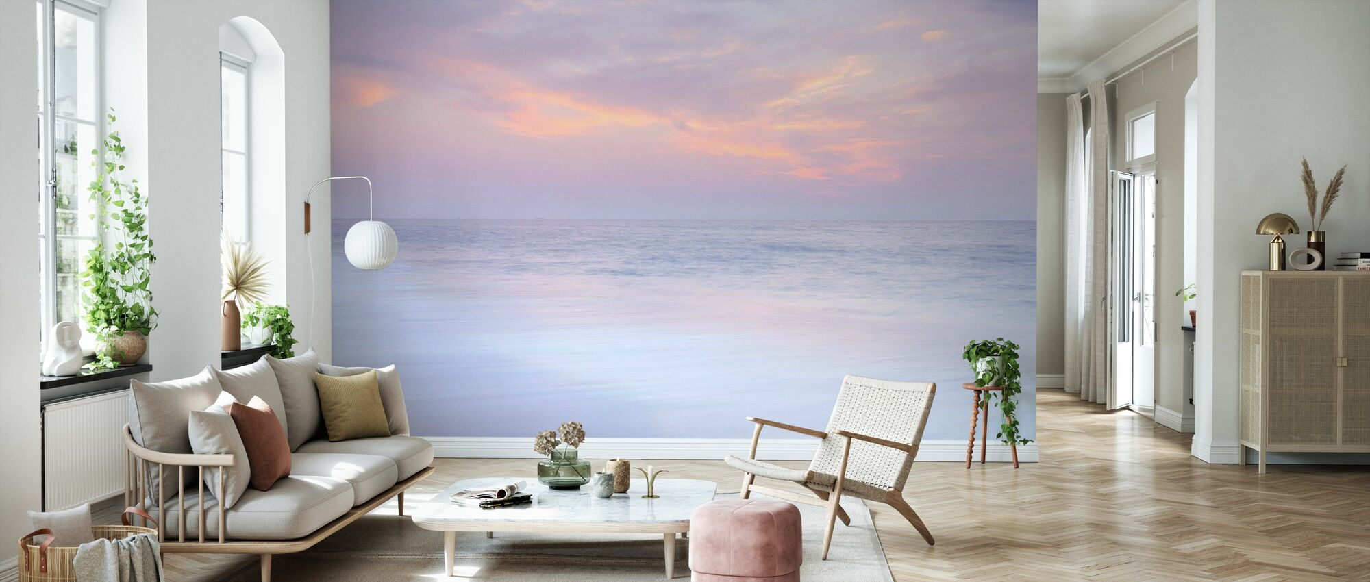 Sea and Sky - Wallpaper - Living Room