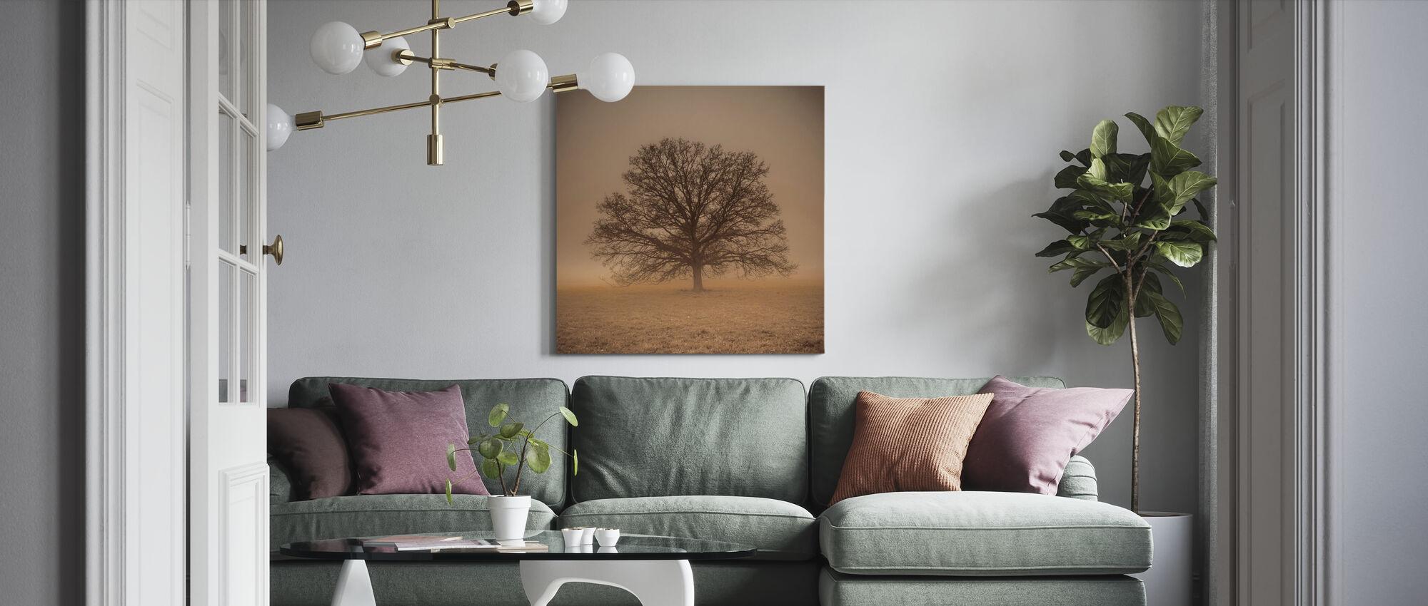 Episkt träd - Canvastavla - Vardagsrum