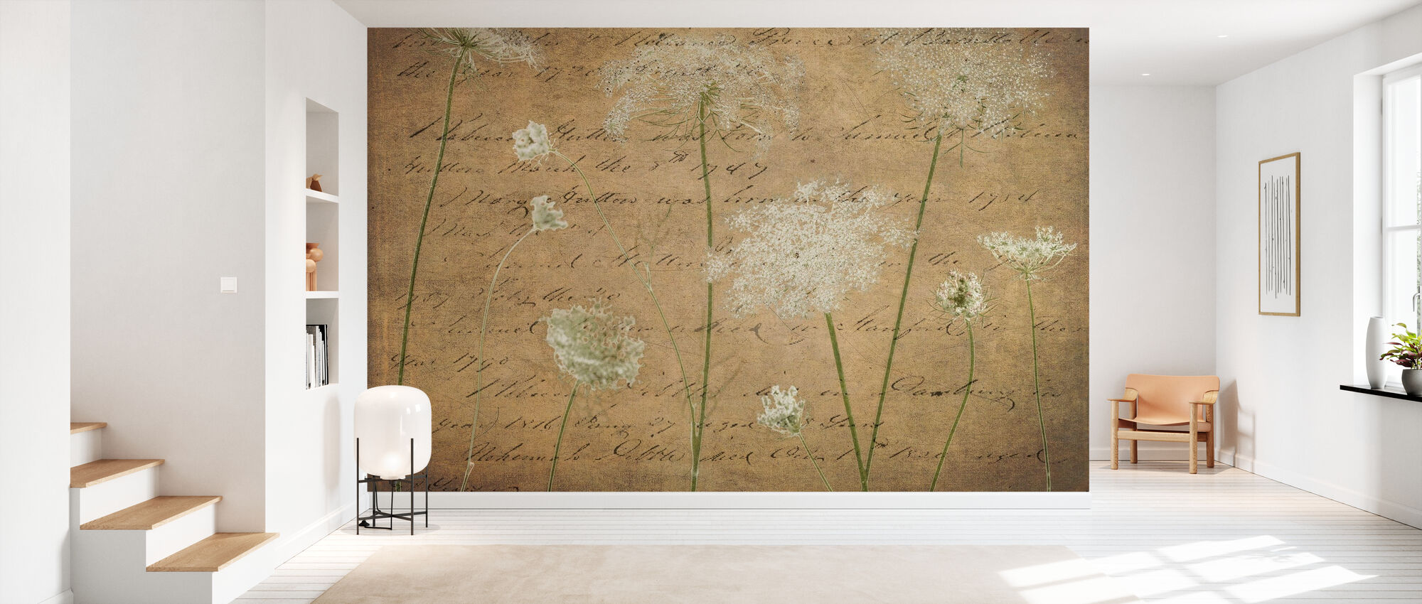 Cow Parsley - Wallpaper - Hallway
