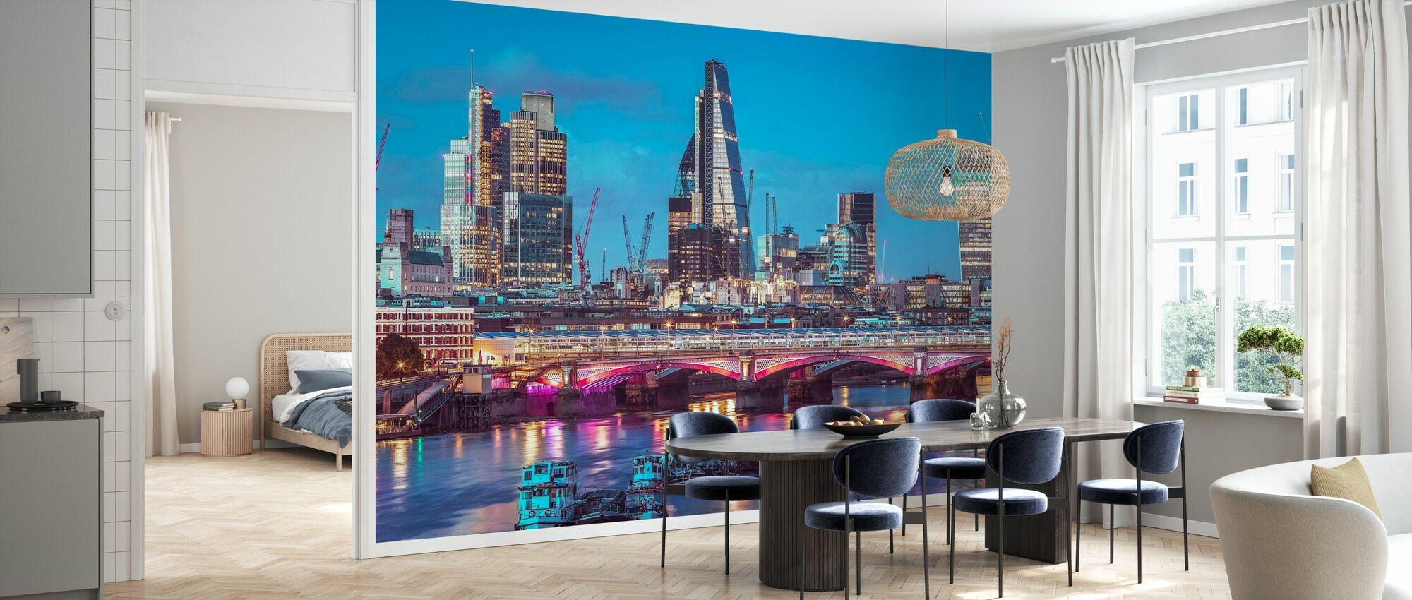 London Dawn - Wallpaper - Kitchen