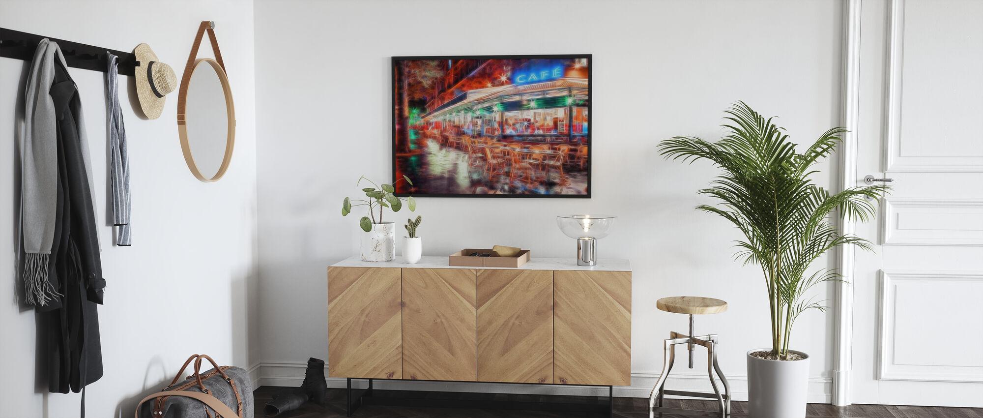 Paris Café - Framed print - Hallway