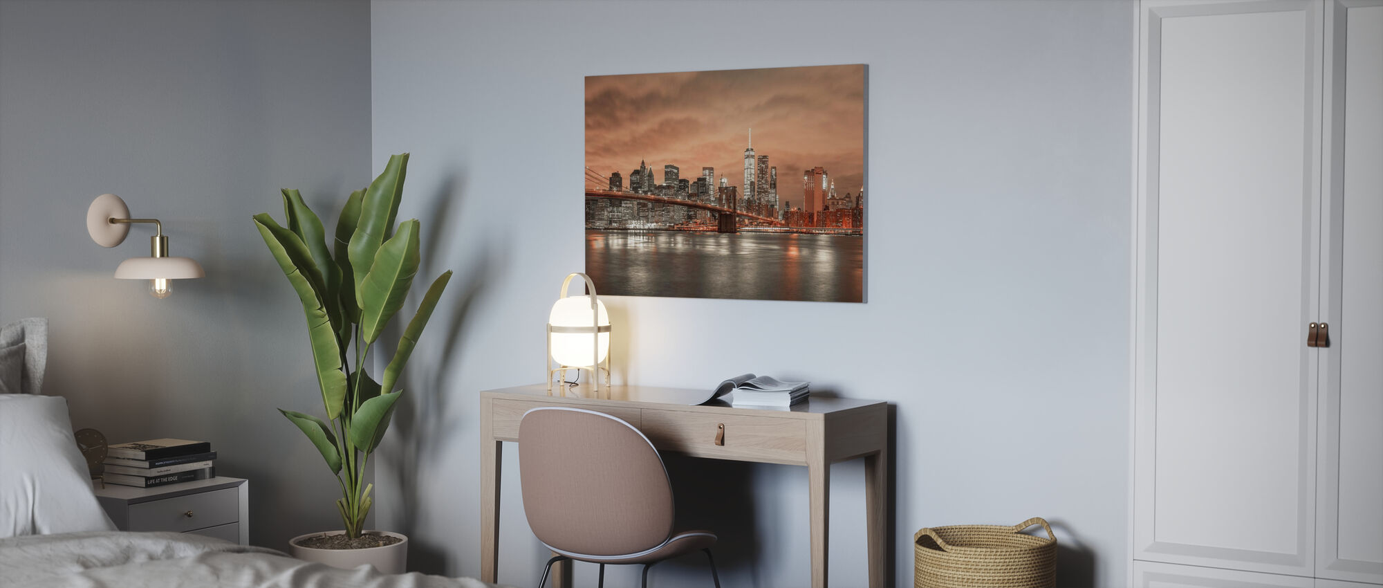New York Dawn - Canvas print - Office