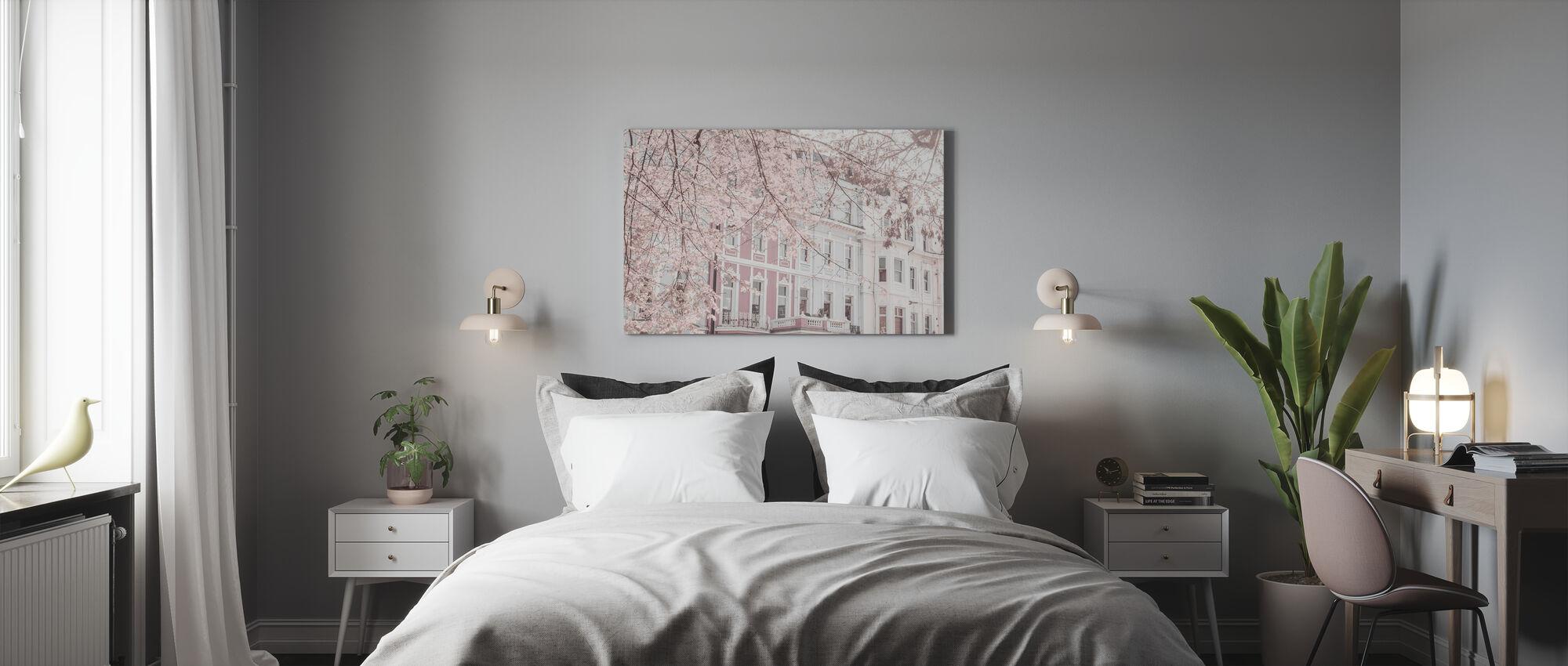 Dimmed London - Canvas print - Bedroom