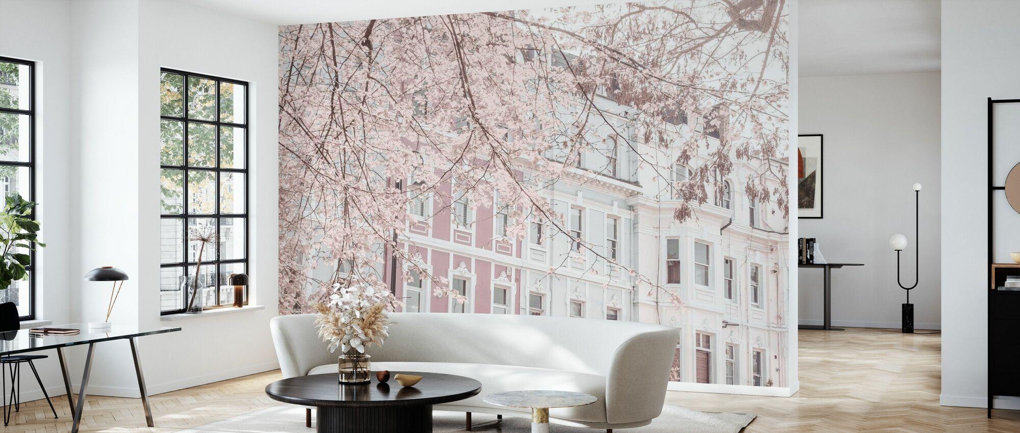 Dimmed London - Wallpaper - Living Room