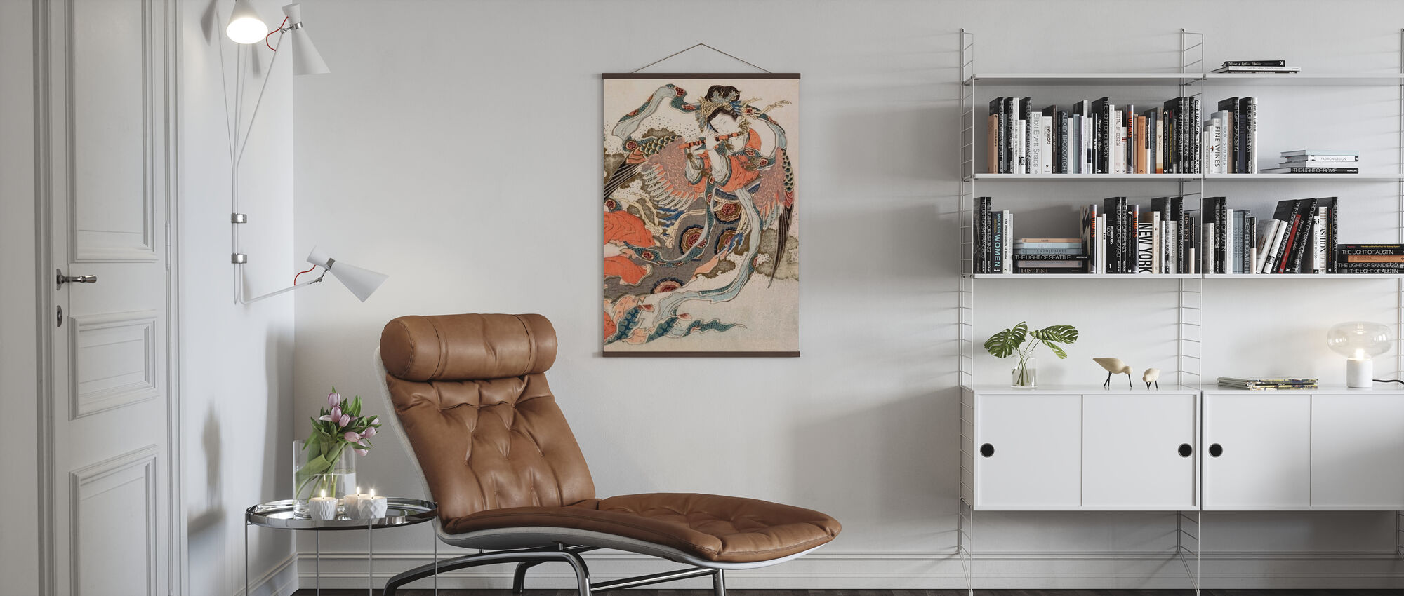 Asiatisk engel - Plakat - Stue