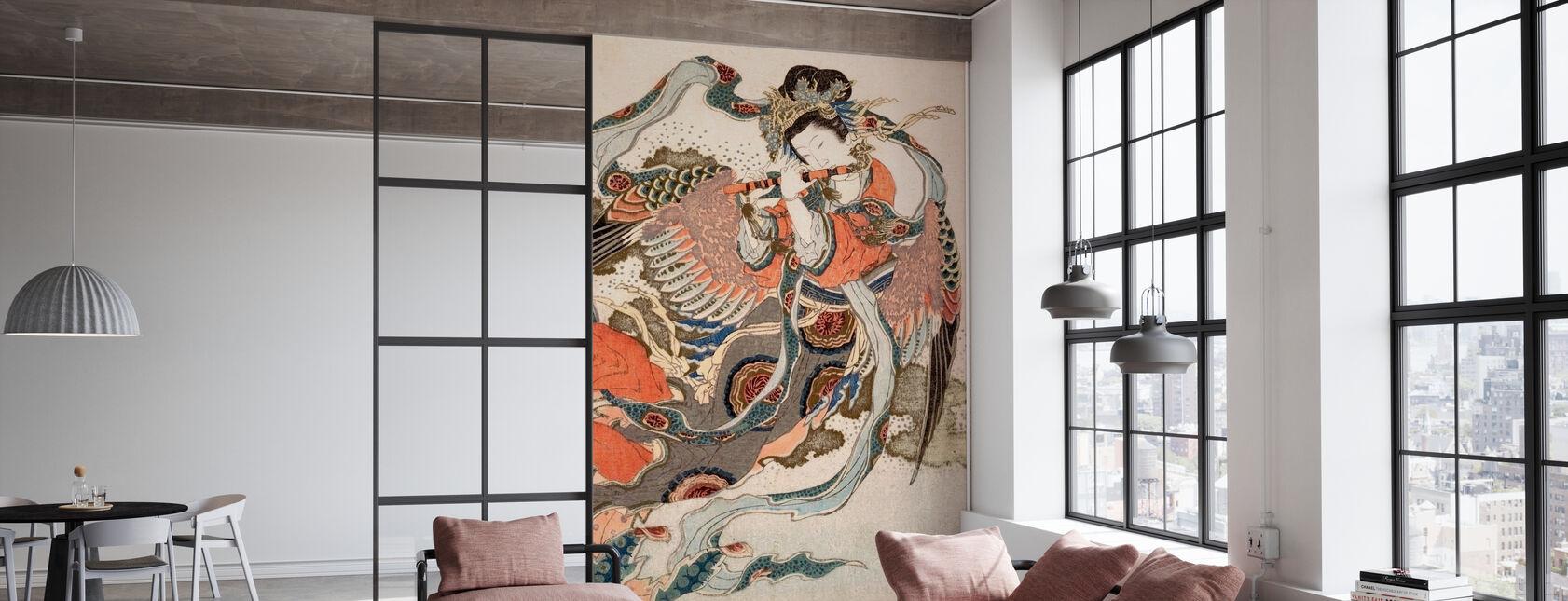 Asian Angel - Wallpaper - Office