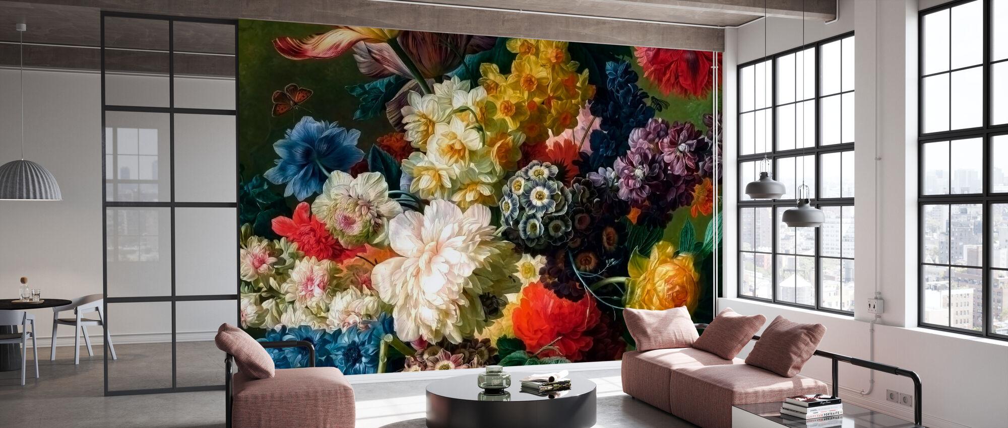 Flower Madness - Wallpaper - Office