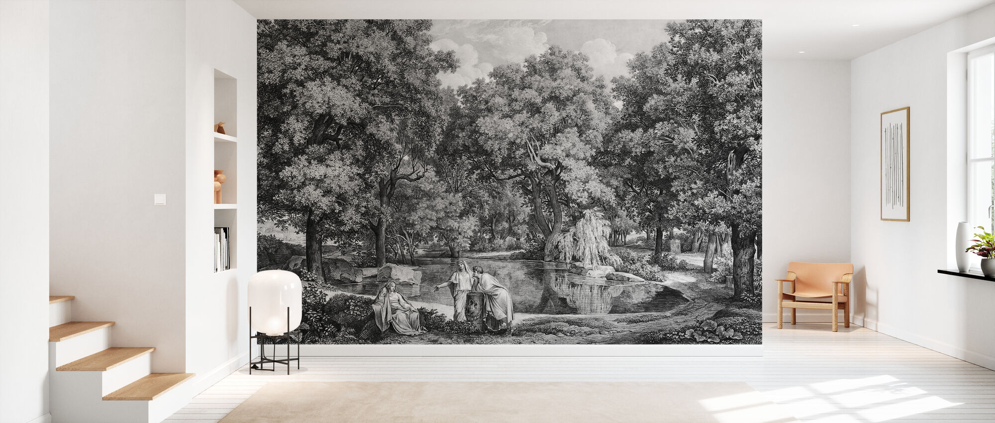 Lake side talk - Wallpaper - Hallway