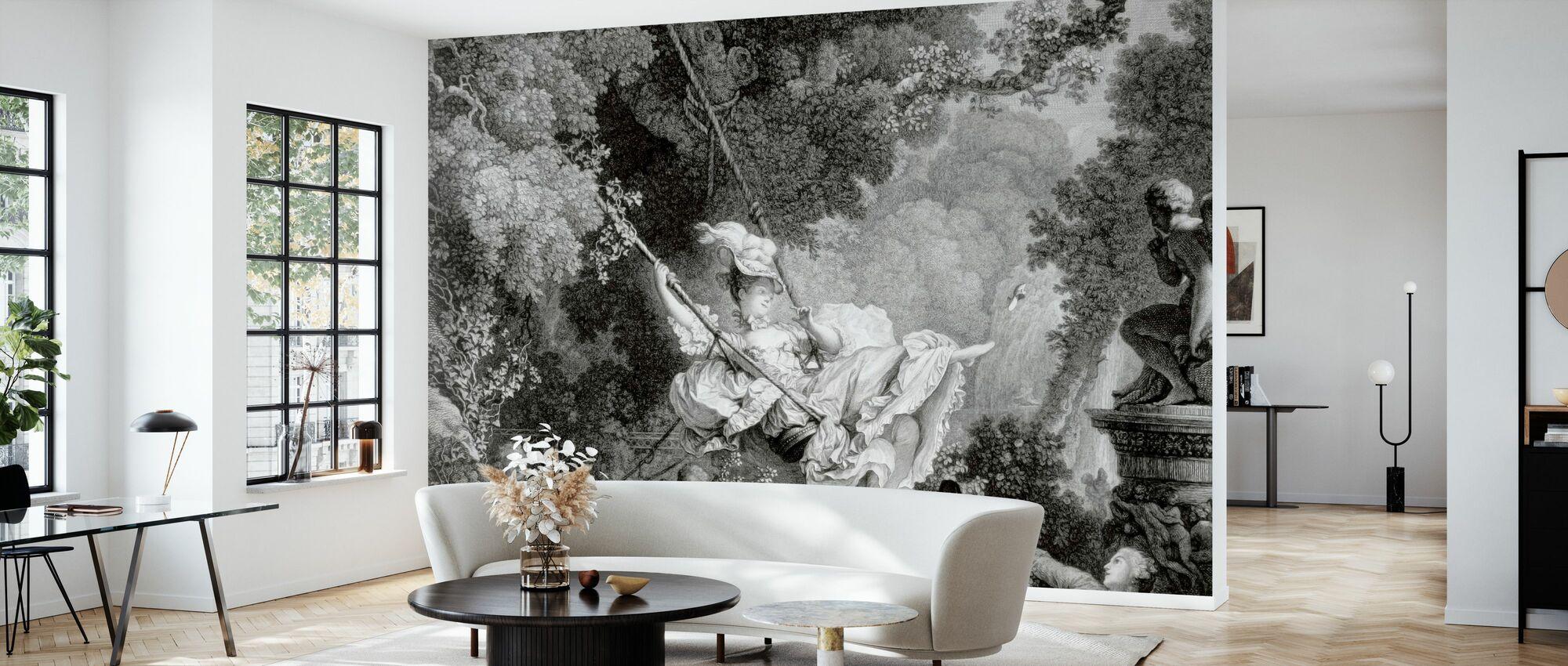 Summer Swing - Wallpaper - Living Room
