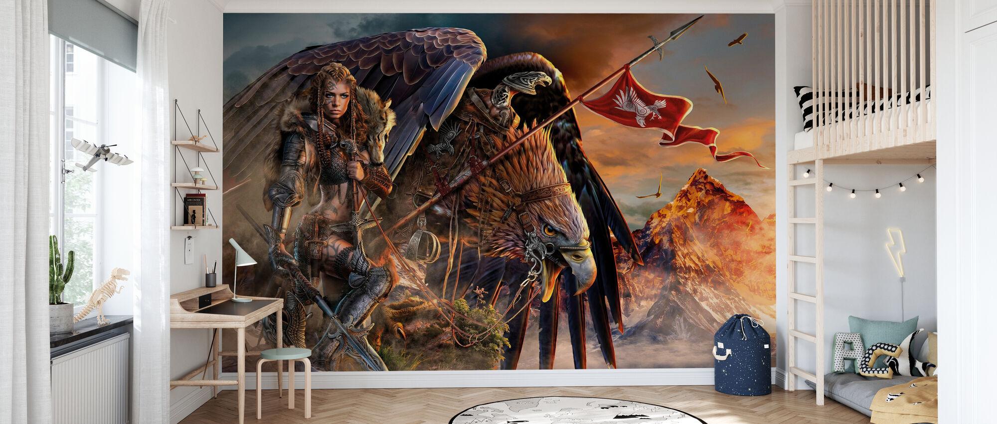 Eagle Rider - Wallpaper - Kids Room