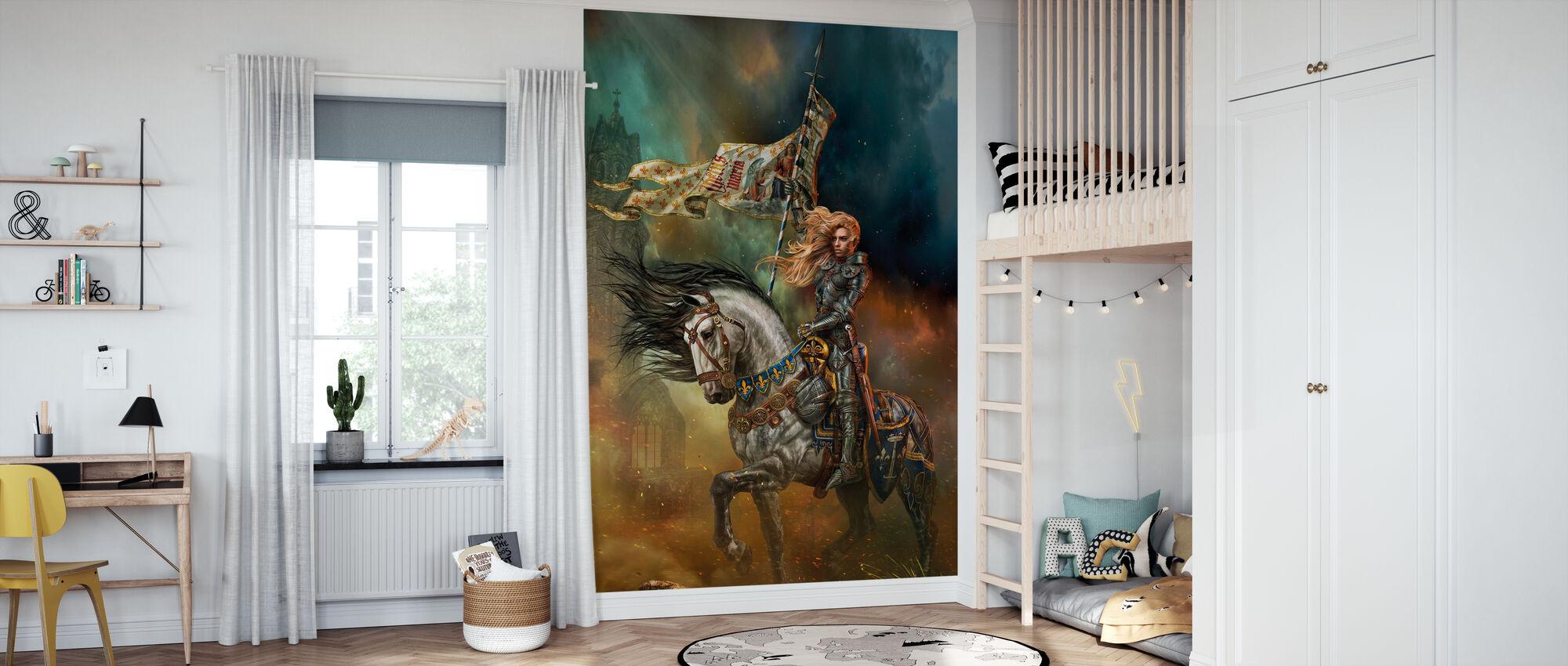 Joan of Arc - Wallpaper - Kids Room