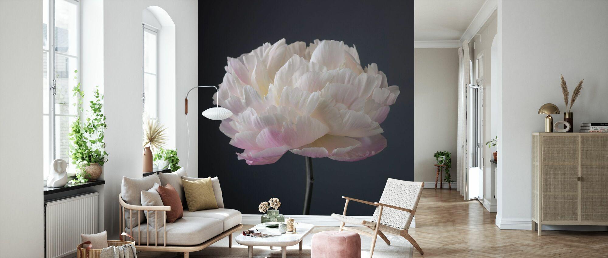 Peonies - Wallpaper - Living Room