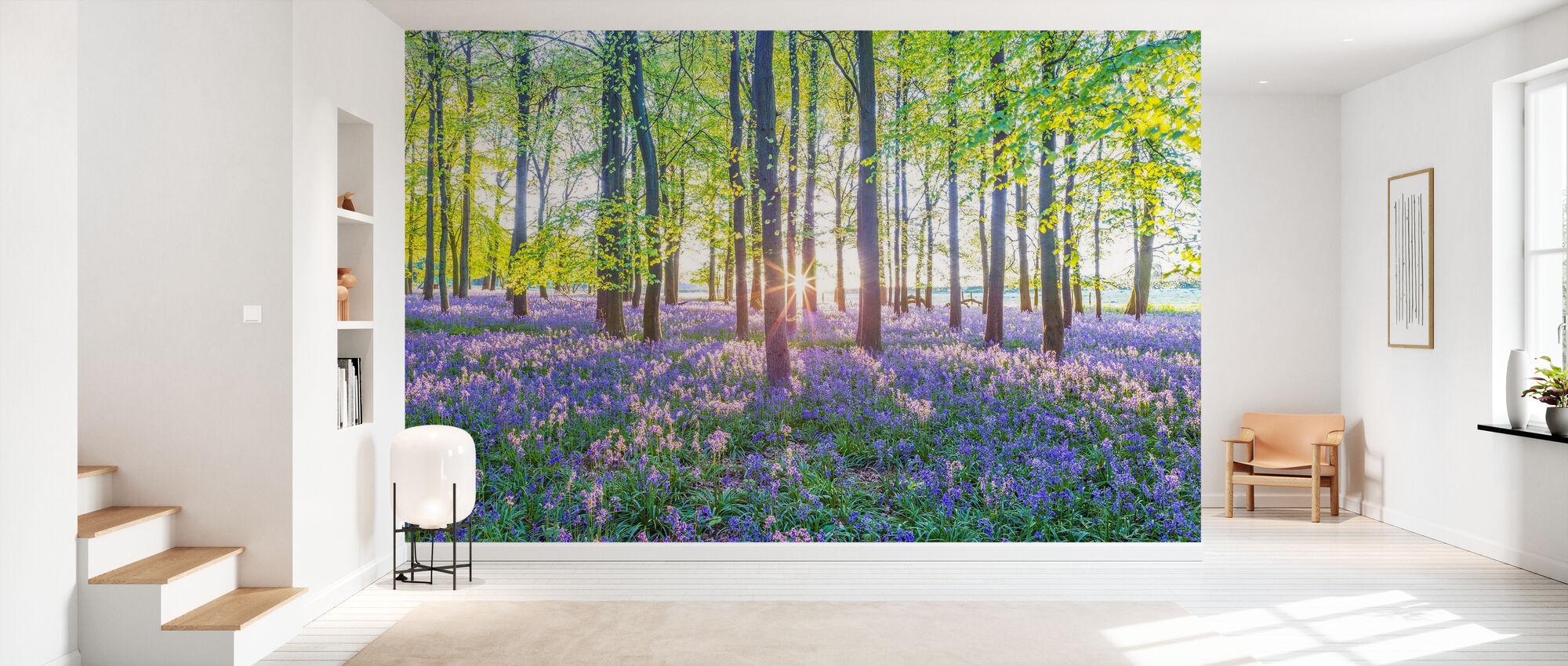 Bluebells - Wallpaper - Hallway