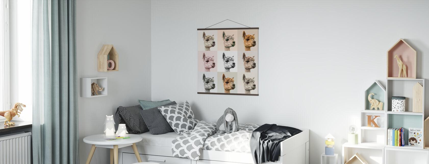 Alpaca e Alcapas - Poster - Camera dei bambini